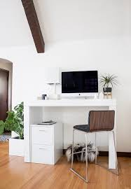 Crate And Barrel Leaning Desk White by Desk Archives Copycatchic