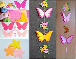 Amazing Interior Design Craft This Adorable Butterfly Mobile For Your Kids Room