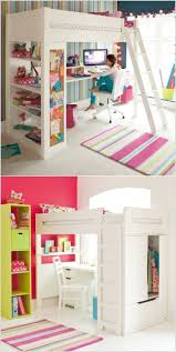 Low Loft Bed With Desk by Furniture Sleep And Study Loft Teenage Bunk Bed With Desk