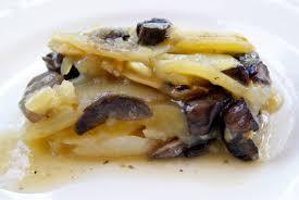 cuisiner cepes frais un bon gratin de pommes de terre aux cèpes bien de saison