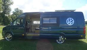 VW Crafter XLWB Camper Van Conversion Race Motorhome T5 Sprinter