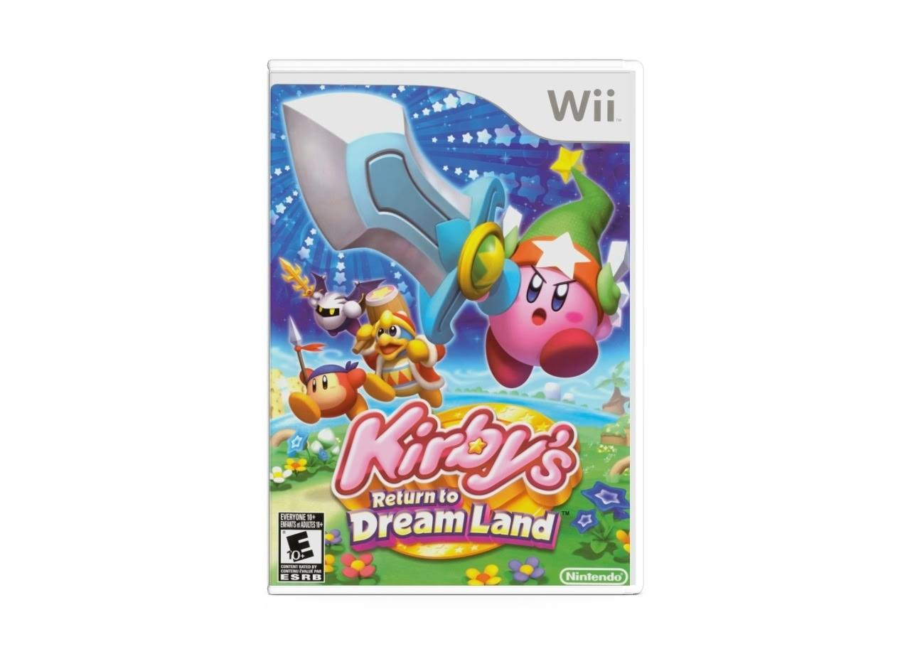 Kirby's Return to Dream Land - Nitedo Wii