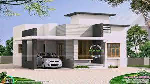 100 Single Storey Contemporary House Designs Floor Plans In Kerala YouTube