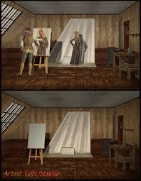 100 Art Studio Loft Ist Set 3D Models Richabri