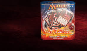 Common Mtg Deck Themes by Premium Deck Series Fire U0026 Lightning Card Set Archive