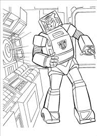 Free Printable Transformer Coloring Pages For Adults