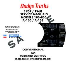 1967-1968 DODGE TRUCK REPAIR MANUALS - ALL MODELS Free Truck Repair Manuals Data Wiring Diagrams 2005 Chevy Manual Online A Good Owner Example Ford User Guide 1988 Toyota The Best Way To Go Is A Factory Detroit Iron Dcdf107 571967 Parts On Cd Haynes Dodge Spirit Plymouth Acclaim 1989 Thru 1995 Chiltons 2007 Hhr Basic Instruction Linde Fork Lift Spare 2014 Download Chilton Asian Service 2010 Simple Books Car Software Mitchell On Demand Heavy Service Hyundai Accent Pdf