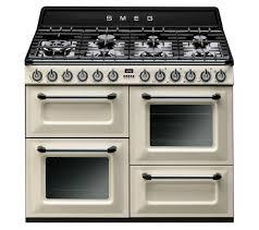 cuisine smeg buy smeg tr4110p1 dual fuel range cooker black free