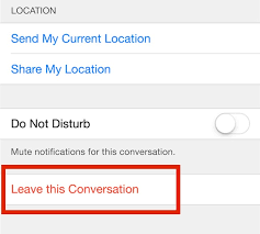 How to Leave a Group Chat in Messages for iOS on iPhone and iPad