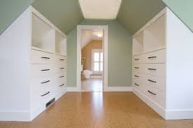 If You Have The Budget To Order Custom Made Fitted Wardrobes Sloped Units Which Slot Neatly Under Eaves Are Perfect Way Create Seamless Looking