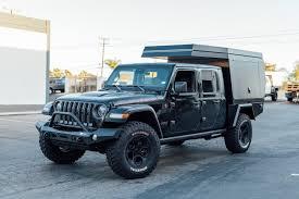 100 Canvas Truck Cap Fiftyten Kit Makes Jeep Gladiator A Goanywhere Adventure Camper