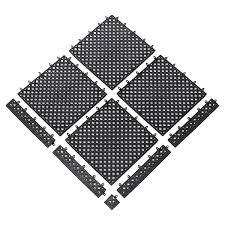 523 modular lok tyle interlocking drain tile 12 x 12 connectable