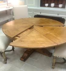 Extension Tables Dining Room Furniture Round Extendable Solid Wood Distressed Table Extends To Melbourne