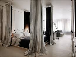 Twin Canopy Bed Drapes by Contemporary Canopy Bed Curtains Ideas Home Design By John