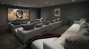 Movie Theater Home Seating Living Room Grey Fabric Seats Connected ... Home Cinema Design Ideas Best 25 Room On Creative Decor Modern Cool Fresh Netflix Theater Pictures Tips Amp Options General Audio Guides And Interesting Information Designs Media Layout Themed 20 Ultralinx Sofa Awesome Sofas Small Decoration Images About Pinterest And Idolza Movie Seating Living Grey Fabric Seats Connected Game For Basement Gorgeous Basements Fun Capvating