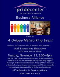 Pride Center Business Alliance Networking Happy Hour Next Tuesday