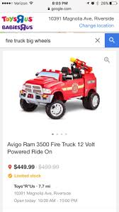 Used Avigo Ram 3500 Fire Truck 12 Volt Powered Ride On In Corona Vintage Style Ride On Fire Truck Nture Baby Fireman Sam M09281 6 V Battery Operated Jupiter Engine Amazon Power Wheels Paw Patrol Kids Toy Car Ideal Gift Unboxing And Review Youtube Best Popular Avigo Ram 3500 Electric 12v Firetruck W Remote Control 2 Speeds Led Lights Red Dodge Amazoncom Kid Motorz 6v Toys Games Toyrific 6v Powered On Little Tikes Cozy Rideon Zulily