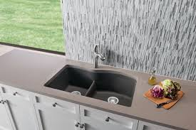 Blanco Diamond Sink Grid by Blanco 441601 32 Inch Undermount Double Bowl Granite Sink With 9 1