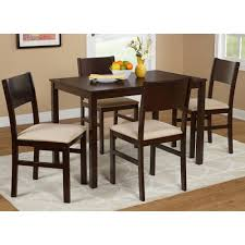 5 piece metal dining set black walmart com