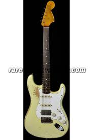 Fender Custom Shop 1969 Strat Heavy Relic HSS Vintage White Free Setup Electric Guitar