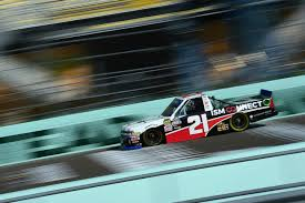 100 Nascar Truck Race Results The Weird Night Time For Sauter Results In Fourth Place Within The