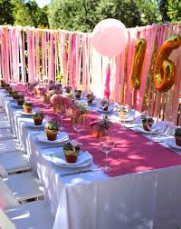 Birthday Party Ideas Sweet Fence Country Themed Theme Backyard 16