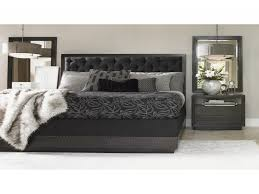 Bedroom Upholstered Bedroom Set New Aico Hollywood Loft Frost