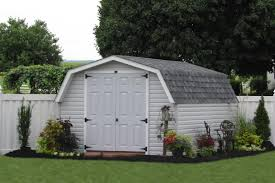 12x24 Portable Shed Plans by Outdoor Vinyl Sided Storage Sheds Maintenance Free