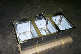 3 compartment commercial kitchen sink home ideas collection