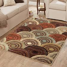 Walmart Outdoor Rugs 5 X 7 by Better Homes Or Gardens Taupe Ornate Circles Area Rug Or Runner