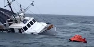 Wicked Tuna Dave Boat Sinks by Coast Guard Investigating The Cause Of The Collision And Sinking