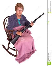Funny Trailer Park Trash Granny With Gun Humor Stock Photo - Image ... Funny Grandmother Cartoon Knitting In A Rocking Chair Royalty Free And Ftstool Awesome Custom Foot Stool Within 7 Amazoncom Collections Etc Charming Shadow Figure Grandma In Rocking Chair Bank Senior Woman With On Stock Photo Image Of Vintage Norcrest Grandma In Salt And Pepper Etsy Zelfaanhetwerk Shakers Vintage Crazy Grandmas Youtube Royaltyfree Rf Clip Art Illustration A Granny