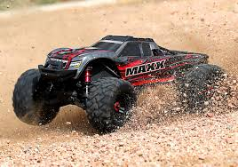 100 Truck Maxx Traxxas 110 Scale MAXX Monster Red