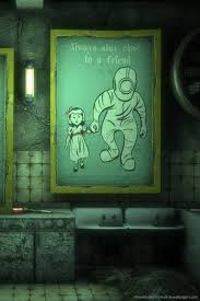 Download Bioshock Girl Guides Wallpaper For iPhone 4