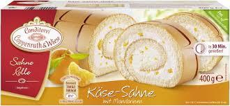coppenrath wiese sahne rolle käse sahne mit mandarinen