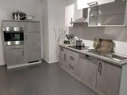 einbauküche narvik i betongrau weiß küchenzeile 340 cm küche