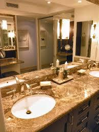 Master Bathroom Vanity With Makeup Area by Polo Beach Club 408 Maui Interior Photos