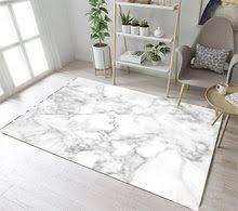 LB Non Slip Marble Texture Nordic Kitchen White Area Rug For Living Home Room In Carpet Bedroom Floor Cushion Bathroom Mat
