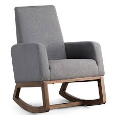 Improved Modern Rocking Chairs Amazon Com Giantex ... Rocking Recliners Lazboy Shaker Style Is Back Again As Designers Celebrate The First Sonora Outdoor Chair Build 20 Chairs To Peruse Coral Gastonville Classic Porch 35 Free Diy Adirondack Plans Ideas For Relaxing In The 25 Best Garden Stylish Seating Gardens