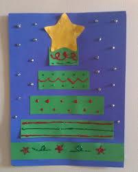 Construction Paper Christmas Tree Craft