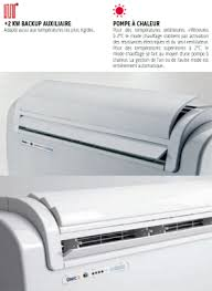 climatiseur mural sans groupe extérieur