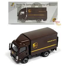 Jual Bagus Tiny Diecast 137 Isuzu N Series Box Lorry UPS Code 9106 ...