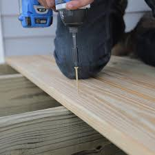 Wood Decking Boards by How To Build A Deck Wood Decking And Railings