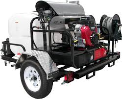 Pressure Pro TR8012PRO-35HG Hot Water Trailer (8 GPM @ 3500 PSI)