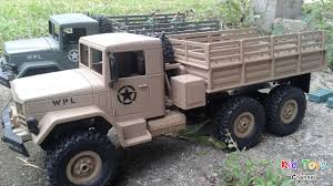 100 Rc Military Trucks New RC Truck 6x6 Brown Color 116 24GHz YouTube