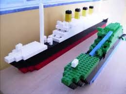 lego titanic wreck and normal model youtube