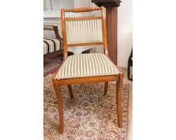 details zu stuhl englischer stil kirschholz polsterstuhl esszimmer küche wohnzimmer villa