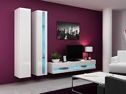 wohnwand vigo new5 anbauwand wohnzimmer möbel hochglanz