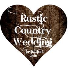 Wedding Invitation Wording Rustic Country Invitations