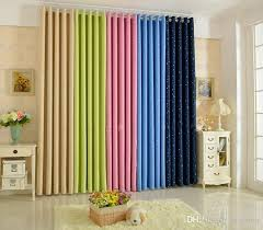 2018 Summer Stylefashion Window Curtain Solid Finished Products Blackout Curtains For Dining Room Kitchen Stars Navy Blue From Bigmum 1693
